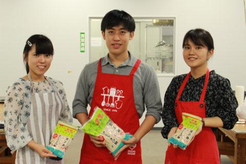 沖縄高専の学生さんがレシピを考案して下さいました!