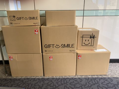 GIFT for SMILE活動に参加致します!